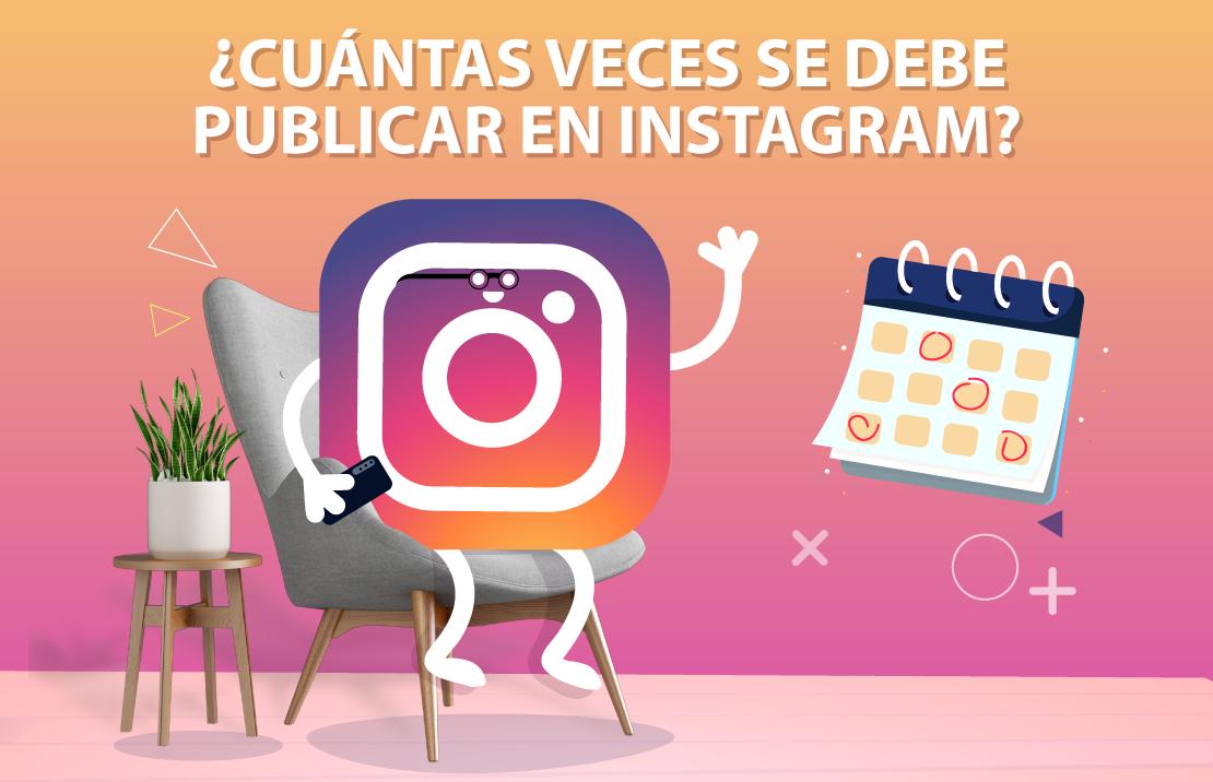 frecuencia de publicaciones en instagram 2021